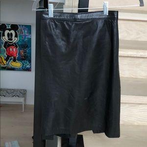 Vintage Skirts - Vintage leather skirt